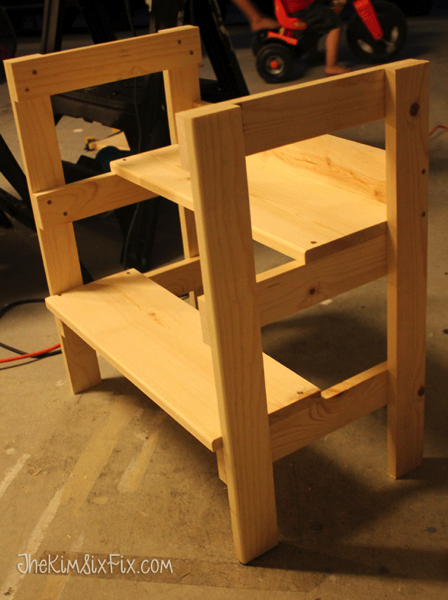 Adding steps to bench