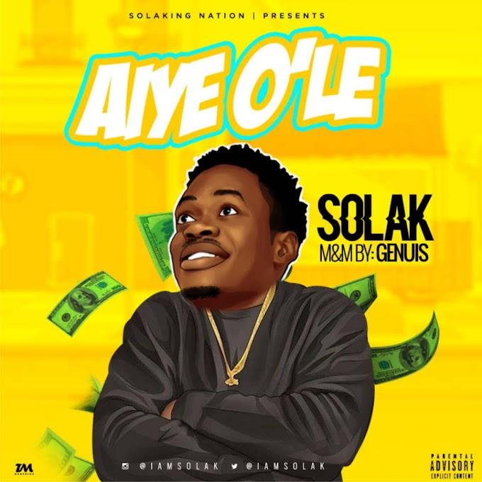 [Music] Solak - AYIE o'le
