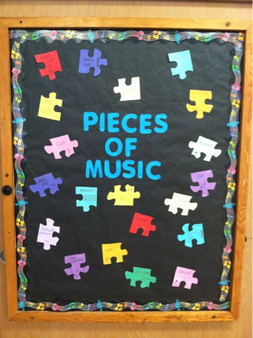 Bulletin Boards Galore Oa Bcig Middle School Music