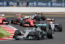 Nico Rosberg on front