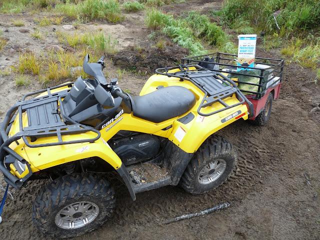 ATV at Manicouagan camp