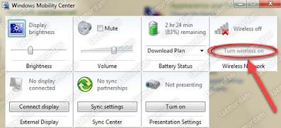 cara mengaktifkanwifi di laptopwindows 10 yang hilang