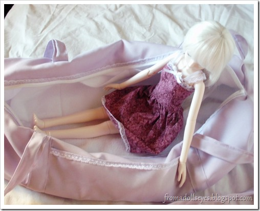 Ball Jointed Doll in Carry Bag