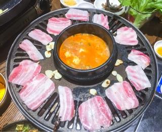 Kobi Korean BBQ Thornhill: pork belly