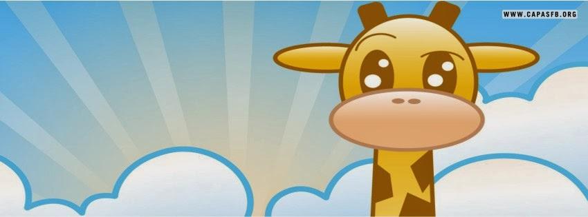 Capas para Facebook Girafa