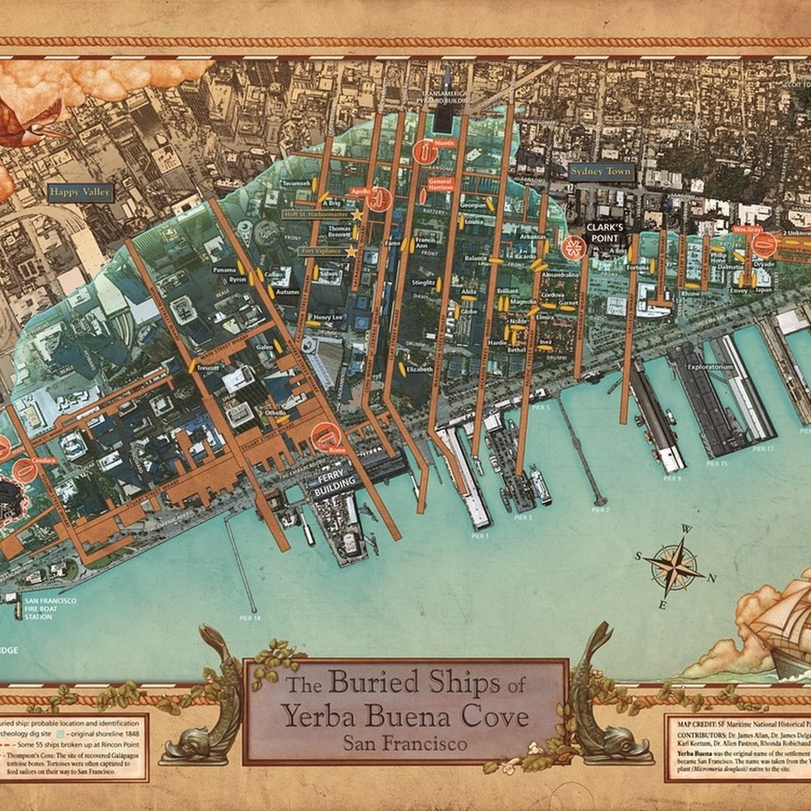 The Ships Buried Under San Francisco's Streets
