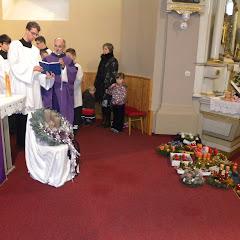Posvätenie adventných vencov