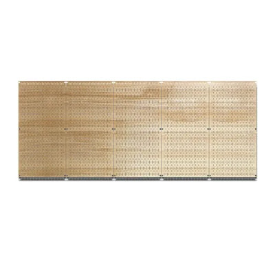 5 Pegboards with Woodgrain Pattern