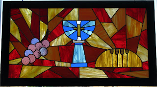 Archbishop Rodi Blesses New Stained Glass in Montgomery Catholic's Chapel 5