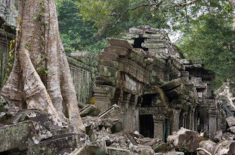 Photo: This temple was built in the late 12th century. Nowhere else at Angkor is nature working faster to reclaim its territory from the hand of man.