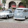 Startnummer 23 VW Karmann Ghia Cabrio 1966 Startnummer 24 VW T1 1966