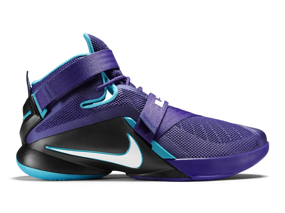 ... Available Now Nike LeBron Soldier 9 Summit Lake Hornets ...