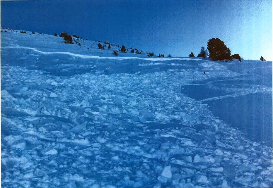 Avalanche Haute Maurienne, secteur La Norma, Secteur hors piste de Pracarra - Photo 1