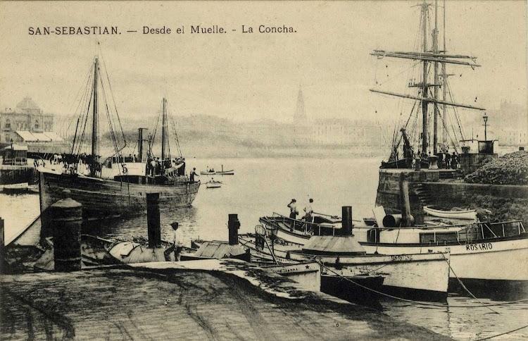 El vapor pesquero MAMELENA NUM. 5 en Donostia. Anes habia sido el PEREZ GALLEGO.tif