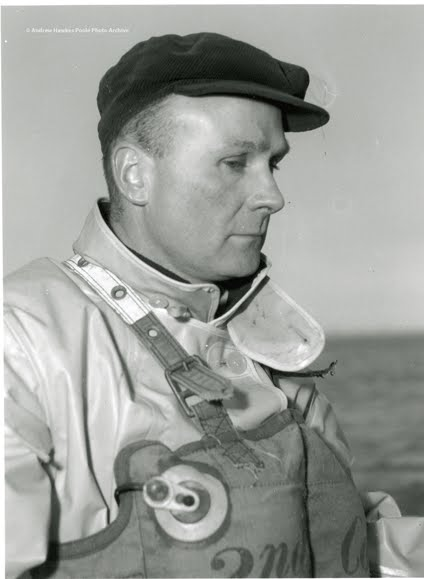 Reginald Brown, then Second Coxswain (as shown on the kapok lifejacket), who became Coxswain from December 1968 to February 1975