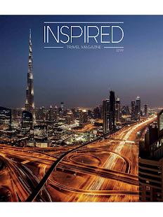 Inspired Travel Magazine - náhled