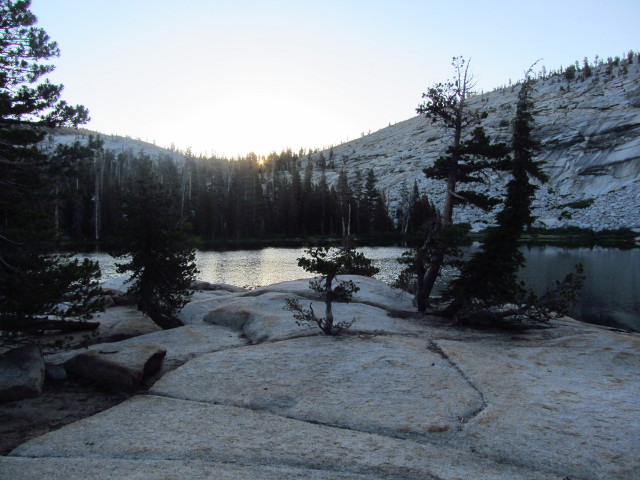 sunrise over Sunrise Lake