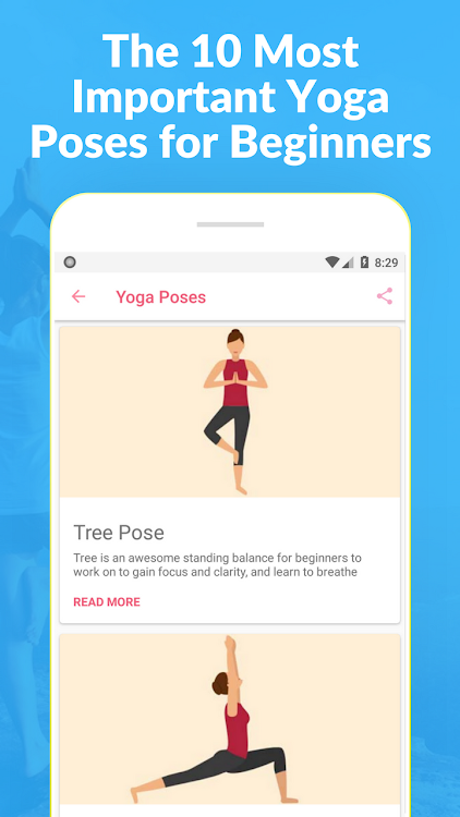 How To Do Yoga At Home Challenge And Asanas Android 앱