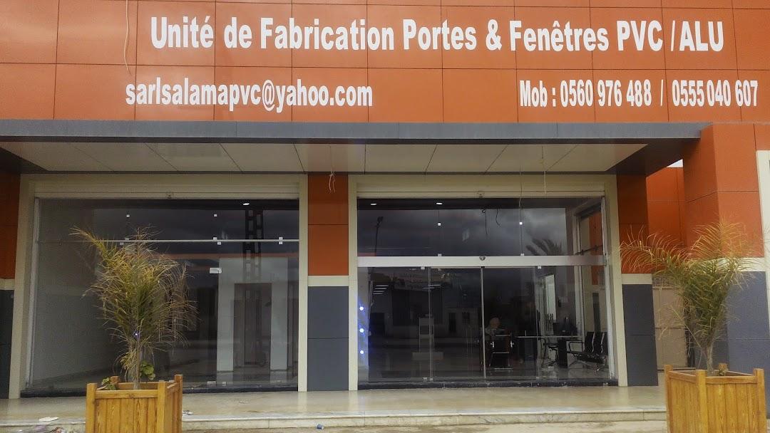 Sarl Salama Pvc Unité De Fabrication De Portes Et Fenêtre En Pvc