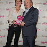 WWW.ENTSIMAGES.COM -   Pippa Kelly and John Sergeant  at     Older People in the Media Awards at The British Library London November 13th 2014Annual awards organised by charity Independent Age, in celebration of coverage which has positively portrayed older people or sensitively highlighted the issues they face. Hosted by Independent Age and sponsored by Barchester Healthcare.                                                 Photo Mobis Photos/OIC 0203 174 1069