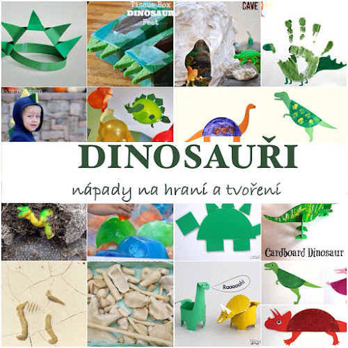 Dinosauři tvoření pro děti