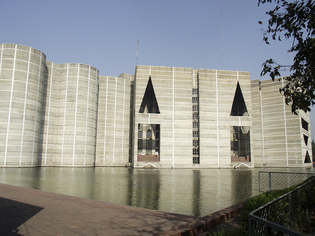 Another side view of National Assembly Building