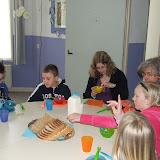 Sobere maaltijd voor de kinderen van de kinderkerkclub. - DSCF5793.JPG