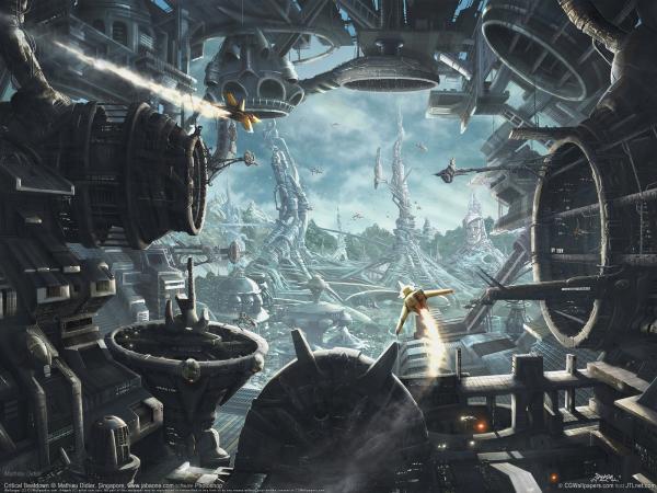 Driving A Spaceship, Fiction 1