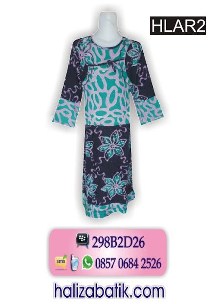 desain batik, baju muslim anak perempuan, model batik