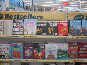 Photo: Of course there are always exceptions and collections like the Hunger Games series are something that the whole family reads and re-reads!