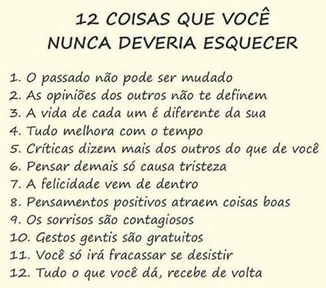 12 coisas