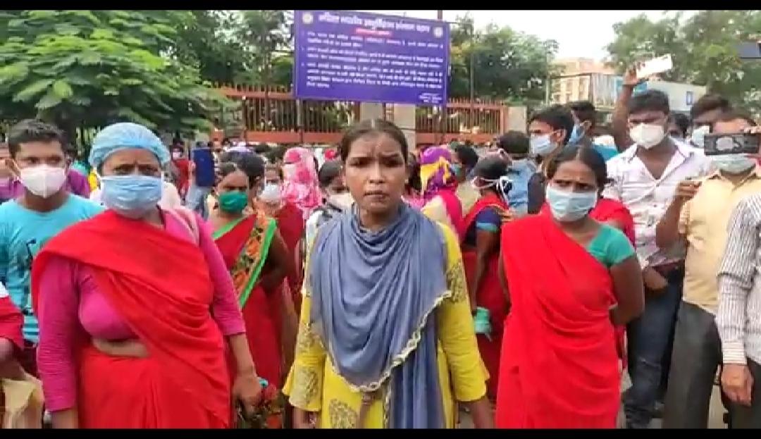 पटना AIIMS में हड़ताल, आज सुबह से नर्स ,कर्मचारी और सफाई कर्मी ने किया काम से इंकार