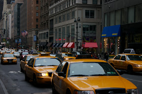 Taxicabs in Manhattan
