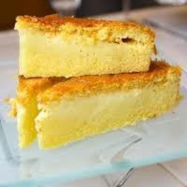 Custard Filled Cornbread - It's Magic Recipe
