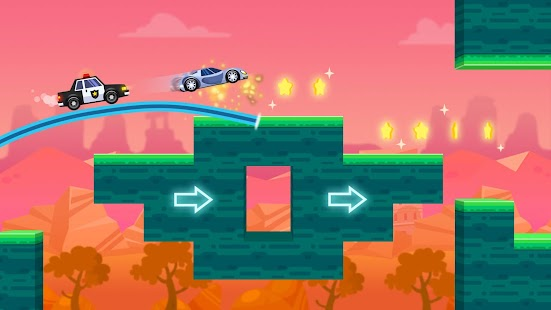 Sky Escape - Car Chase Screenshot