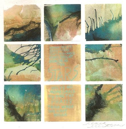 """Fragmented #3"" by artist Renea Erickson. 12x12, $125.00"
