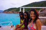 The girls at Perhentian