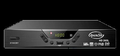 تحديث جديد OPENSKY-HD-265L
