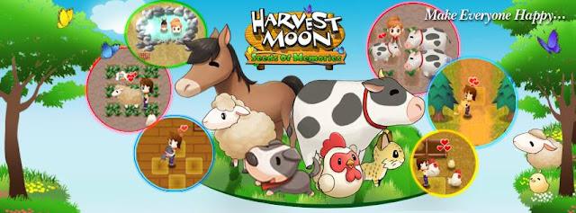 Sudah tidak sanggup dipungkiri lagi bahwa  Harvest Moon: Seeds of Memories Siap Rilis di Android