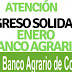 INGRESO SOLIDARIO EN BANCO AGRARIO para consultar