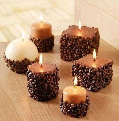 Bellas Maneras Para Decorar Velas - Ideas-para-decorar-velas