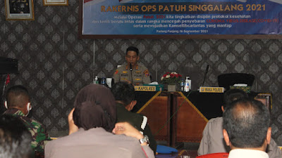 Mulai 20 September, Polres Gelar Operasi Patuh Singgalang 2021