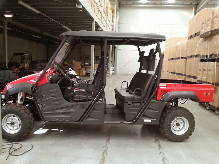 4 Seater Hisun XUV 700cc Side by Side UTV Farm Ute