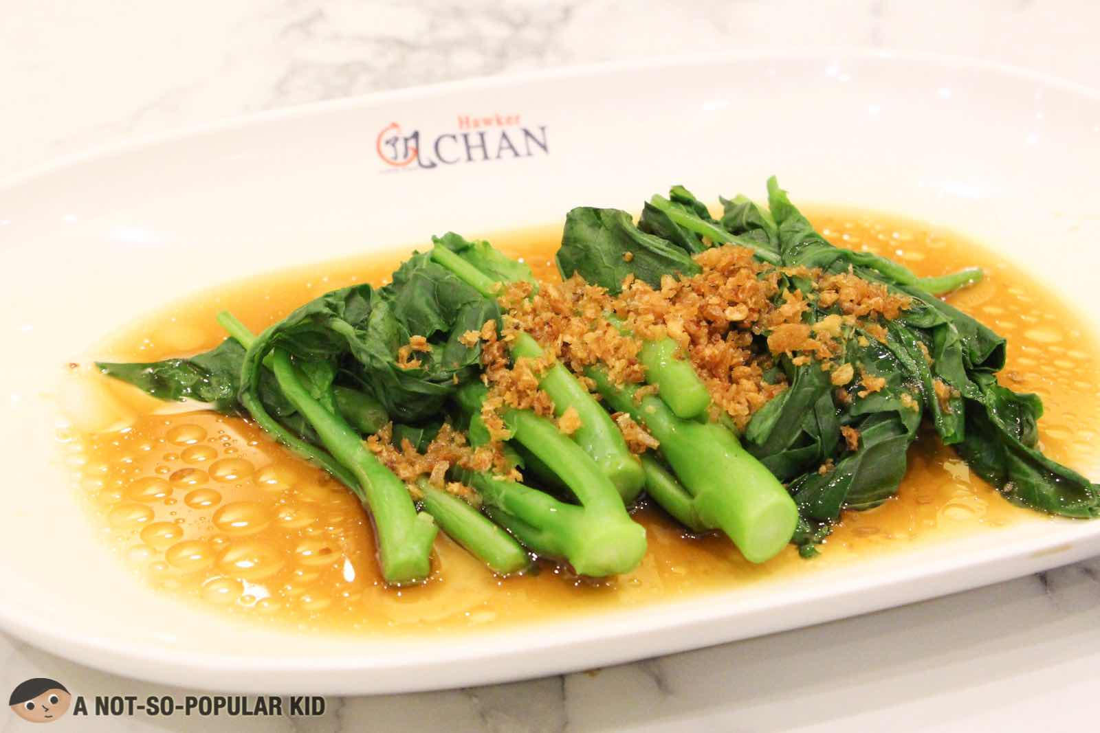 Seasonal Vegetable of Hawker Chan