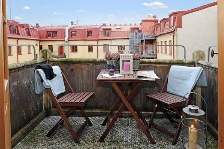El bazar de la clau inspiraci n decoraci n terrazas peque as - Muebles para terraza pequena ...