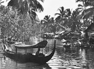 foto perahu tambangan khas banjarmasin