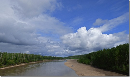 Muskwa River, Fort Nelson