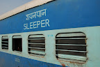 Many trains run overnight, and there are three classes of sleeper carriage.