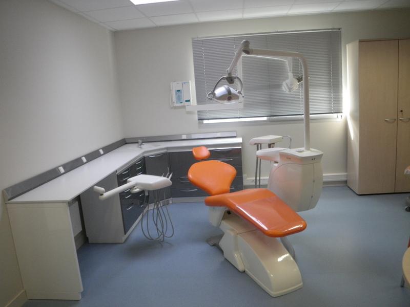 Installation Cabinet Dentaire