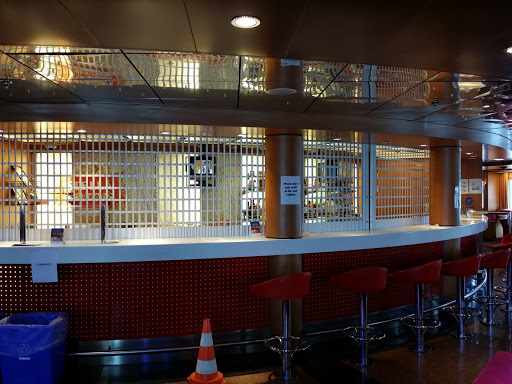Bar aboard the Marine Atlantic ferry, before sailing. Every Journey Matters: Marine Atlantic Ferries to Newfoundland